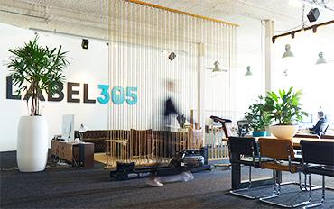 Label305 Joris aan het werk