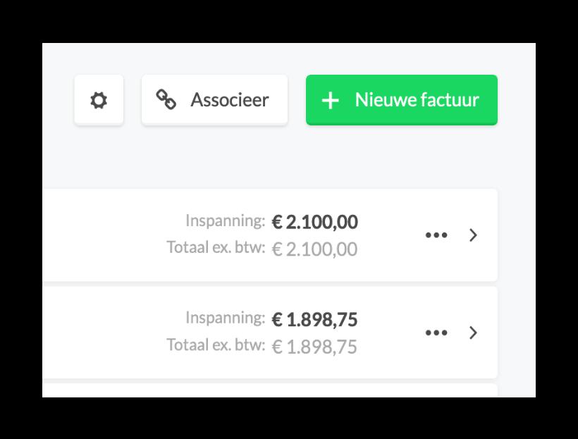 E-boekhouden.nl factuur maken direct vanuit de Keeping urenregistratie-app