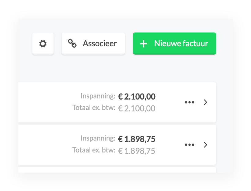 Moneybird factuur maken direct vanuit de Keeping urenregistratie-app